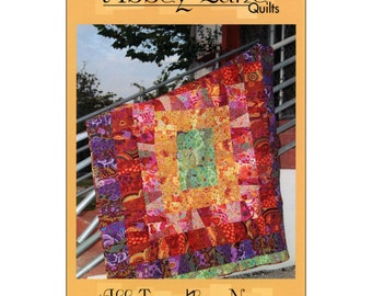 """Pattern """"All Together Now"""" Quilt Pattern by Abbey Lane Quilts (ALQ118) Paper Pattern"""