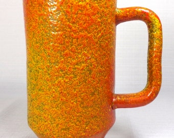 """Vintage Small Pitcher Vase - 6.5"""" Tall - Marked HH 71033 Italy"""