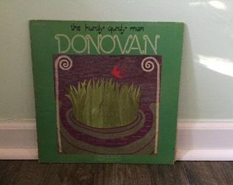 "Donovan ""The Hurdy Gurdy Man"" vinyl Record album"