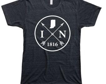 Homeland Tees Men's Indiana Arrow T-Shirt