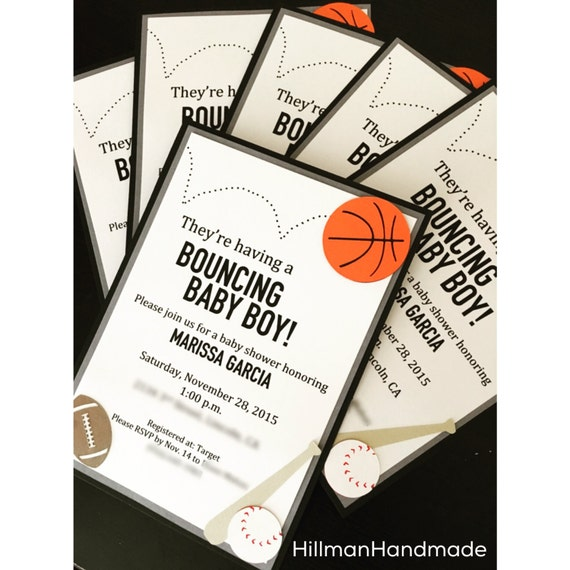 sports themed baby shower invitations sports baby shower invite baby