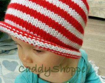 Baby Elf Hat (Size: 6months)