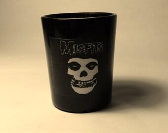Misfits Black Votive Candle