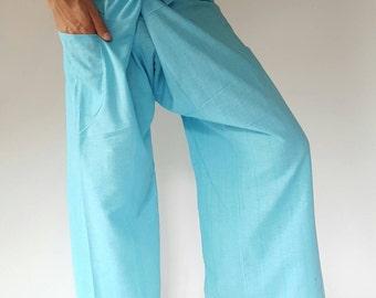 fisherman pant thai yoga pant pants men's Fashion fit for all