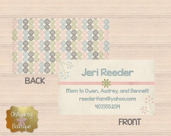 Mommy Calling Card