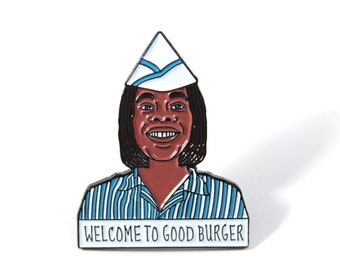 Good Burger Ed Soft Enamel Pin Lapel Pin - Kenan and Kel - All That