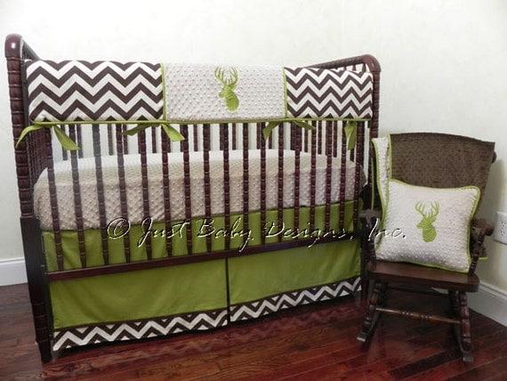 Deer Crib Bedding For Boys : Deer crib bedding set bradwin baby boy