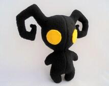 Shadow Heartless Plushie - Kingdom Hearts