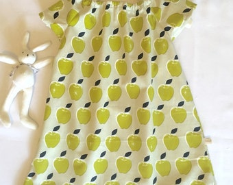 An 'Apple a day' dress