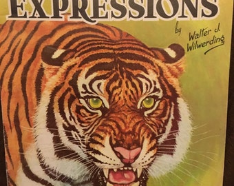 How to draw and paint animal expressions Vintage book FREE SHIPPING