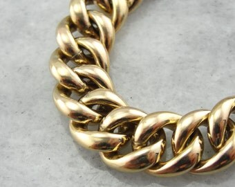 Vintage and Substantial Gold Fill Bracelet  NYXPZL-D