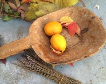 Handmade  Rustic Wood  Bowl,Small Wooden Bowl,Kitchen Decor