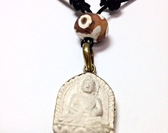 FREE SHIPPING Buddha necklace Buddha pendant Yoga necklace Enter coupon code FREESHIP16 at checkout
