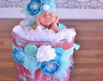 Olivia - Newborn outfit - girl  clothing - photo prop- baby shower gift - boutique clothing - ruffle bottom - Christol and Company