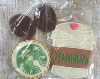 Starbucks Latte Coffee Sugar Cookies