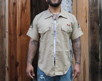 Corporals Chevrons Khaki Shirt