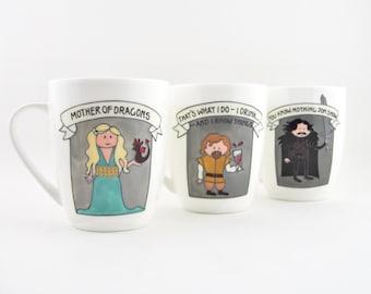 Game Of Thrones Fine Bone China Mug