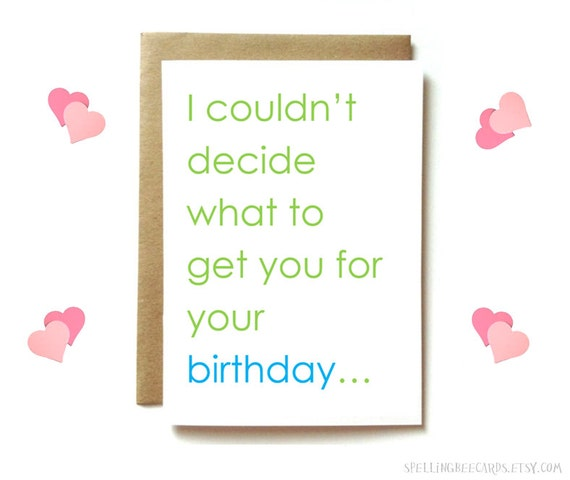 Dirty Birthday Card For Boyfriend Husband