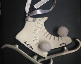 Personalized Figure Skates Ornament