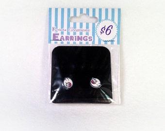 Boo Inspired Stud Earrings