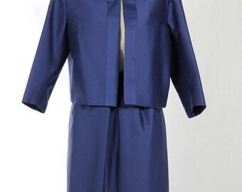 60s woman suit