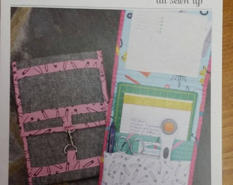 All Sewn Up Sewing Kit Quilting Pattern Notions Keeper Pattern