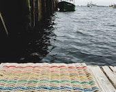 Recycled Lobster Rope Doormat, Handwoven in Maine: Chebeague