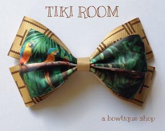 tiki room hair bow