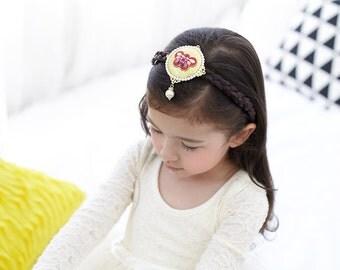 Korea colorful Hairband - Hanbok Hair clip -  Korean traditional accessories / hair ornament