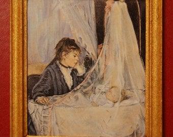 Dollhouse Framed Stamp Berthe Morisot