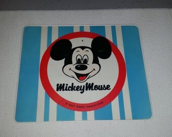 Vintage Mickey Mouse Concert Hall Record Player