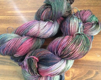 75/25 sw merino/nylon sock yarn, hand dyed sock yarn, hand dyed sock yarn, kettle dyed sock yarn