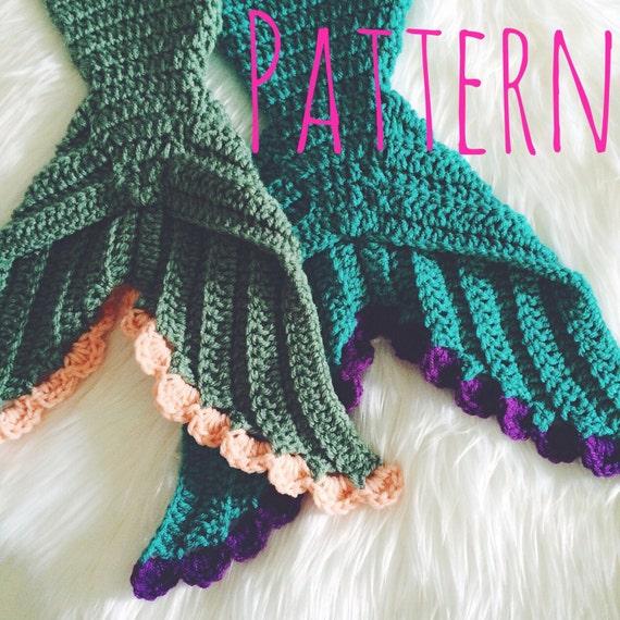 Baby Mermaid Crochet Pattern Mermaid Tail Crochet Pattern Baby