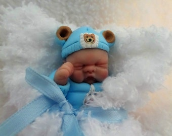 One Of A Kind Art Figurine Baby by*Bttrfly Creations*