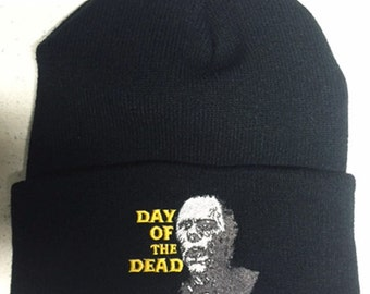 ON SALE!!! Day Of The Dead beanie zombies Romero