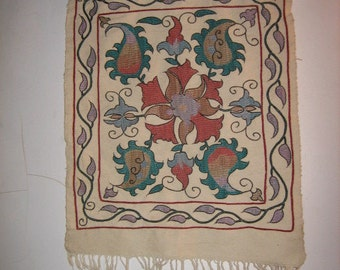 Beautiful Embroidery from Uzbekistan