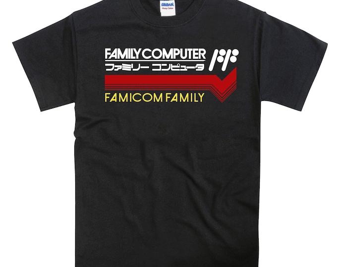 NES Famicom Family Tribute T-shirt