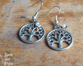 "Earrings ""Tree of Life"" silver"