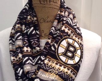 Boston Bruins Infinity Scarf