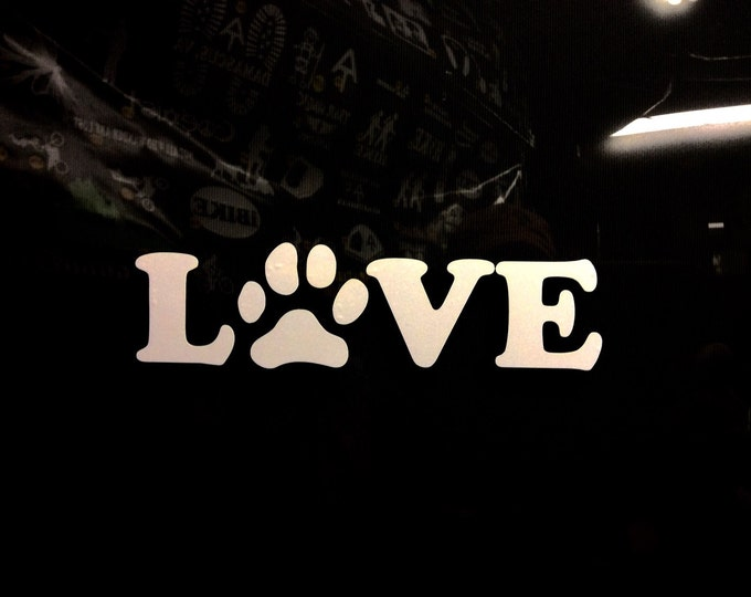 Pet lover decal, pet sticker, pet decap, dog cat lover decal, dog cat lover sticker, animal lover decal, peta decal, aspca decal