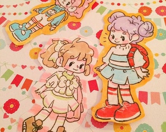 Original Character stickers