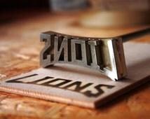 Custom Logo Branding Iron- made of stainless steel