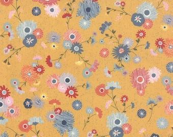 1/2 Yard - Mon Ami Jardin Yellow Fabric by Basic Grey - 30411 15