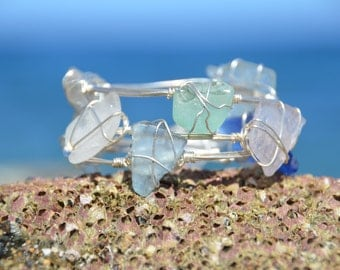 Sea Glass Bangle
