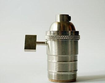 UNO Socket - SATIN NICKEL - Light Socket