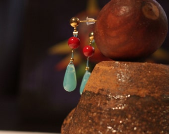 Hauru earrings howl's moving castle