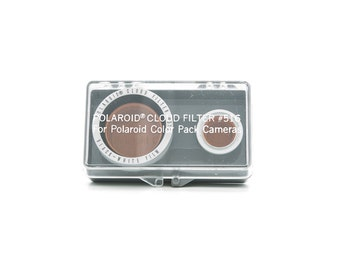 POLAROID Cloud Filter #516 - use with Polaroid Color Pack Land Cameras - Polaroid 100 250 350 450