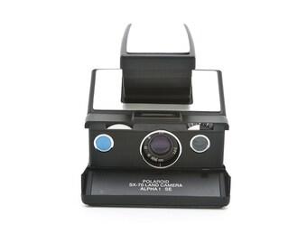 Polaroid SX-70 Land Camera Alpha 1 SE - reskinned with aluminium covering - Film Tested - guaranteed working Polaroid Special Edition