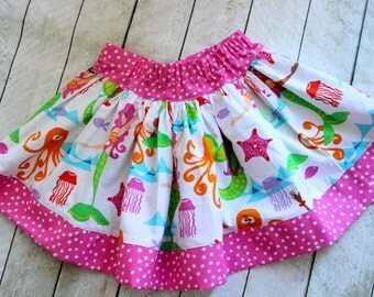 mermaid skirt  ONLY girl mermaid skirt mermaid set mermaid outfit mermaid dress mermaid fabric summer spring