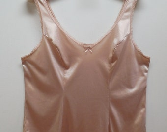 "Camisole lace camisole light brown camisole camel color camisole Lg 36"" 38"" 40"""